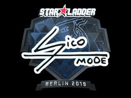 Наклейка | Sico (металлическая) | Берлин 2019