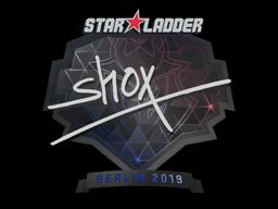 Наклейка | shox | Берлин 2019