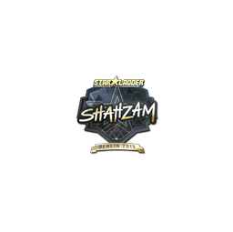 Sticker | ShahZaM (Gold) | Berlin 2019