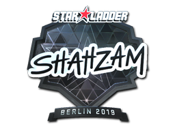 Sticker | ShahZaM (Foil) | Berlin 2019