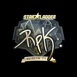 RpK (Gold) | Berlin 2019