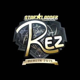 REZ (Gold) | Berlin 2019