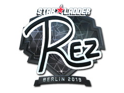 Sticker | REZ (Foil) | Berlin 2019