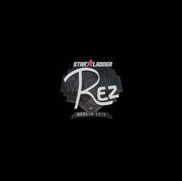 Sticker   REZ   Berlin 2019