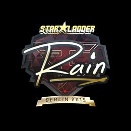 rain (Gold) | Berlin 2019