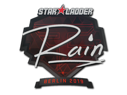 Sticker | rain | Berlin 2019