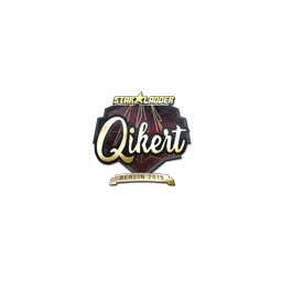 Sticker | qikert (Gold) | Berlin 2019