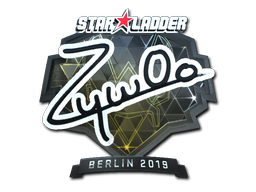 Sticker | ZywOo (Foil) | Berlin 2019