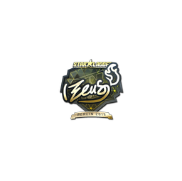 Sticker | Zeus (Gold) | Berlin 2019