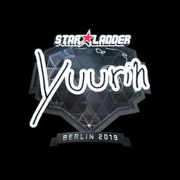 yuurih (Foil)   Berlin 2019
