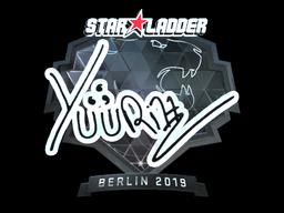 Sticker | yuurih (Foil) | Berlin 2019