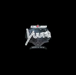 Sticker   yuurih (Foil)   Berlin 2019