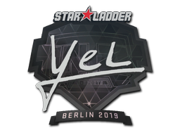 Sticker | yel | Berlin 2019