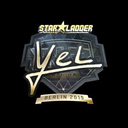 yel (Gold) | Berlin 2019