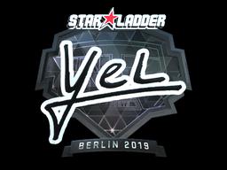 Sticker | yel (Foil) | Berlin 2019