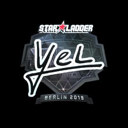 yel (Foil) | Berlin 2019
