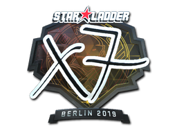 Наклейка | xseveN (металлическая) | Берлин 2019