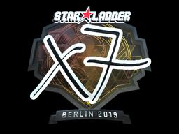 Sticker | xseveN (Foil) | Berlin 2019