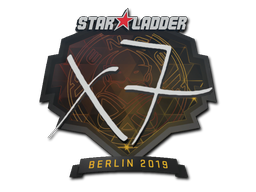 Наклейка | xseveN | Берлин 2019
