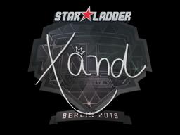 Sticker | xand | Berlin 2019