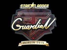 Sticker | GuardiaN (Gold) | Berlin 2019
