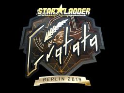Sticker | Gratisfaction (Gold) | Berlin 2019