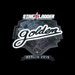 Golden (Foil) | Berlin 2019