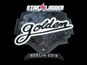 Sticker | Golden (Foil) | Berlin 2019