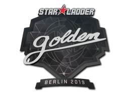 Sticker | Golden | Berlin 2019