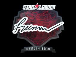 Sticker | Freeman (Foil) | Berlin 2019