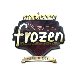 frozen (Gold) | Berlin 2019