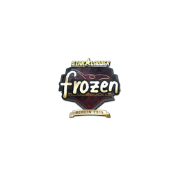 Sticker | frozen (Gold) | Berlin 2019