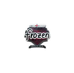 Sticker | frozen (Foil) | Berlin 2019