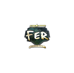 Sticker | fer (Gold) | Berlin 2019