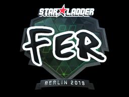 Sticker | fer (Foil) | Berlin 2019