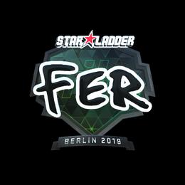 fer (Foil)   Berlin 2019