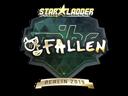 Sticker   FalleN (Gold)   Berlin 2019