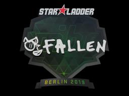 Наклейка | FalleN | Берлин 2019