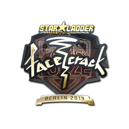 facecrack (Gold) | Berlin 2019