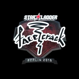 facecrack (Foil)   Berlin 2019