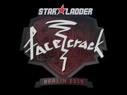Sticker | facecrack | Berlin 2019