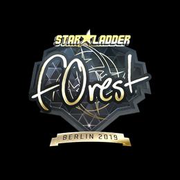 f0rest (Gold)   Berlin 2019