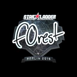 f0rest (Foil)   Berlin 2019