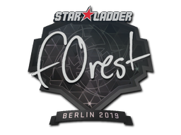 Наклейка | f0rest | Берлин 2019