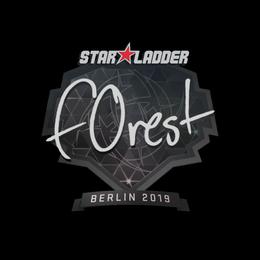 f0rest | Berlin 2019