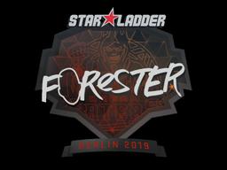 Sticker   Forester   Berlin 2019