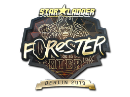 Sticker | Forester (Gold) | Berlin 2019