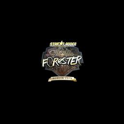 Sticker   Forester (Gold)   Berlin 2019