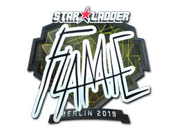 Sticker | flamie (Foil) | Berlin 2019