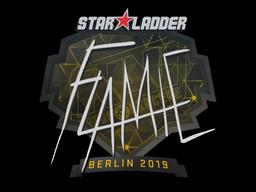 Наклейка | flamie | Берлин 2019